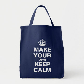 Make Your Own Keep Calm and Carry On Bag