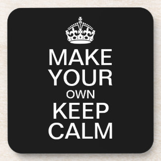 Make Your Own Keep Calm and Carry On Coasters