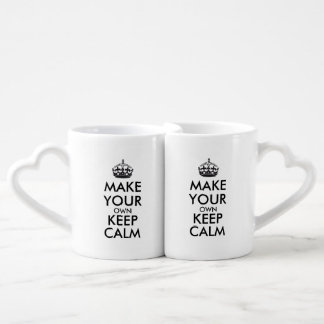 Make your own keep calm - black lovers mugs