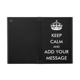 Make Your Own Keep Calm iPad Case