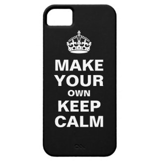 Make Your Own Keep Calm iPhone 5 Case
