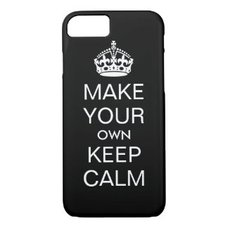 Make Your Own Keep Calm iPhone 7 Case - Template