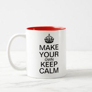 Make Your Own Keep Calm Mug - Template