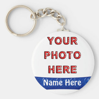 Make Your Own Keyrings Online with Photo & Name