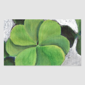 Make Your Own Luck Rectangular Sticker