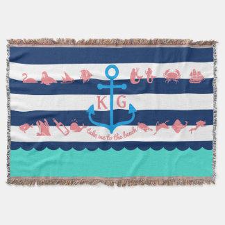 Make Your Own Nautical Summer Fun Anchor Stripes