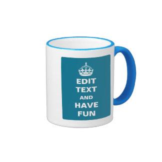 Make Your Own Parody Ringer Mug