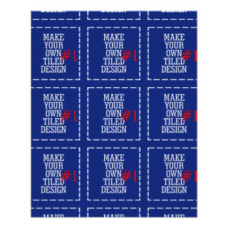 Make Your Own Pattern Easily in One Step Have Fun! 11.5 Cm X 14 Cm Flyer