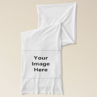 Make your own - personal custom image template scarf