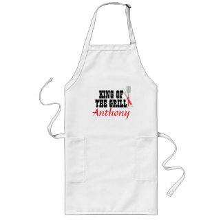 Make Your Own Personal King of the Grill Apron