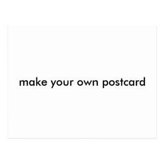 Make Your Own Postcard