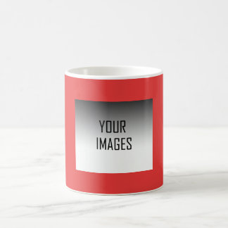 MAKE YOUR OWN RED - PHOTOS BASIC WHITE MUG
