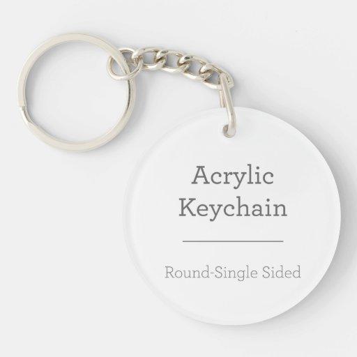Make Your Own Round Keychain