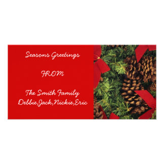 Make Your Own Seasons Greetings Cards Personalized Photo Card