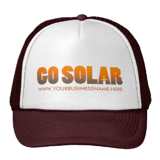 Make Your Own Solar Energy Business Hat