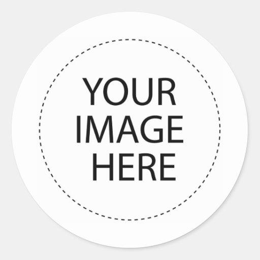 Make Your Own  Template Round Sticker