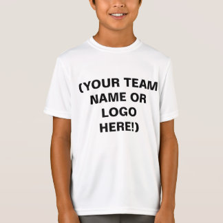 Make Your Own Youth Sports Team Jerseys T-Shirt