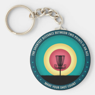 Make Your Shot Count Key Ring