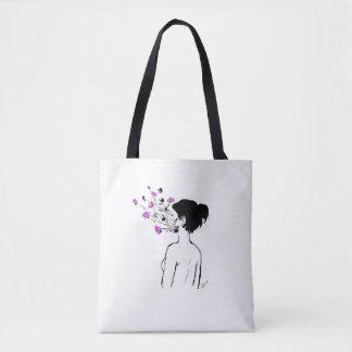 Make yourself flourish tote bag