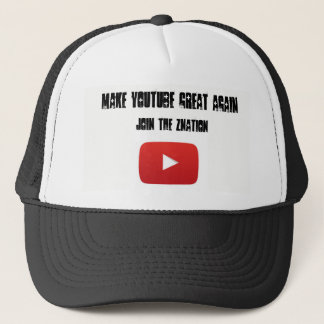 Make Youtube great again Trucker hat