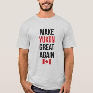 Make YUKON Great Again Canada First Flag #MCGA T-Shirt