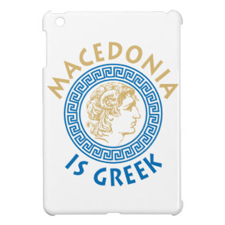 MAKEDONIA IS GREEK - ALEXANDROS iPad MINI CASES