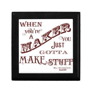 Maker Small Square Gift Box