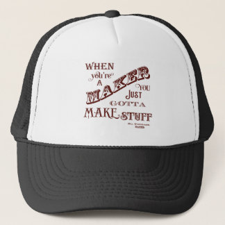 Maker Trucker Hat