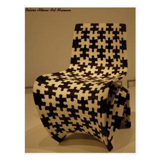 """""""Makerchair Jigsaw"""" - Art Museum Postcard"""
