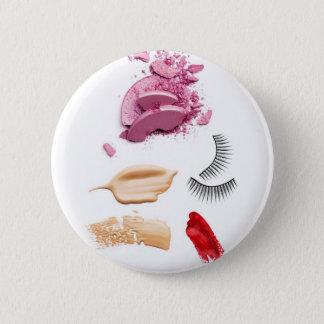 makeup 6 cm round badge