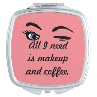 Makeup and Coffee Vanity Mirrors