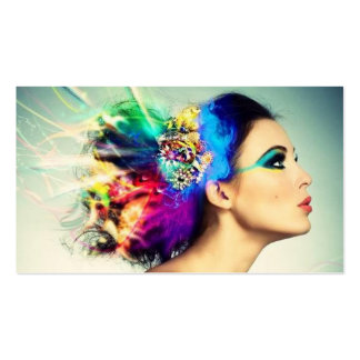 Makeup and Hair Design Pack Of Standard Business Cards