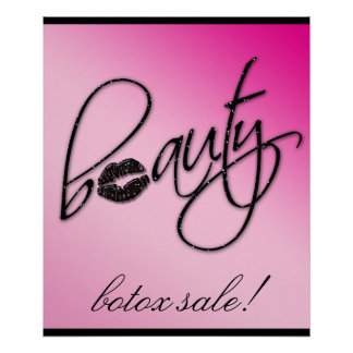 Makeup Artist Beauty Cosmetic Retail Salon Poster