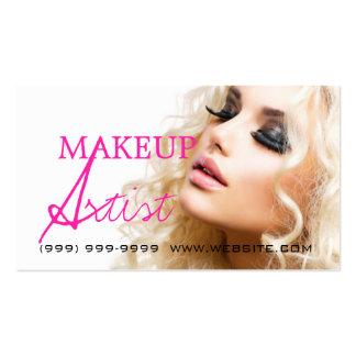 Makeup Artist Beauty Cosmetology Salon Business Card Templates