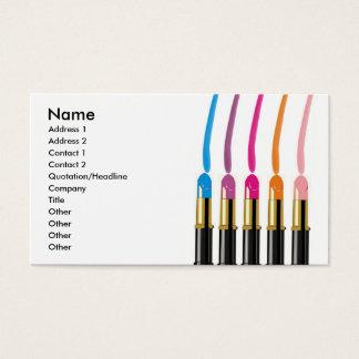 Makeup Artist, Beauty Salon, etc., Business Card