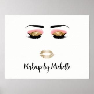Makeup Artist Beauty Salon Poster