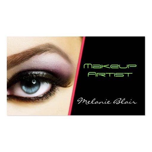 Makeup Artist Business Card Eye