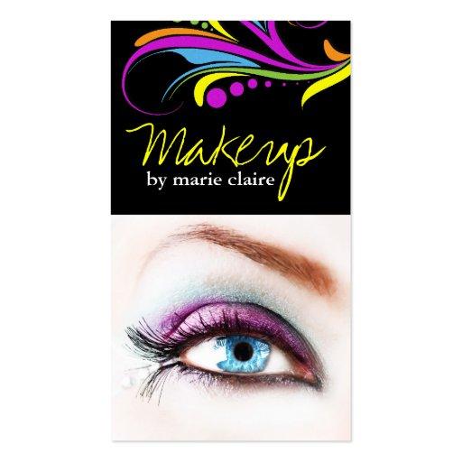 makeup artist business card template zazzle