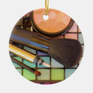 Makeup Artist Ceramic Ornament