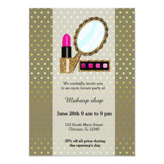 Makeup artist - choose background color card
