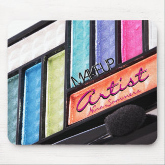 Makeup Artist Colorful Eyeshadow Palette Mouse Pad