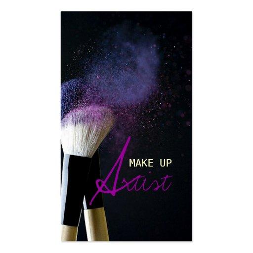 MakeUp Artist , Cosmetologist, Beauty, Salon Business Card Templates