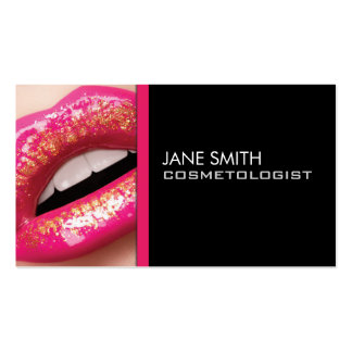 Makeup Artist Cosmetologist Cosmetology Elegant Pack Of Standard Business Cards