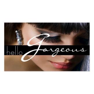 MakeUp Artist Cosmetology Salon Beauty Business Business Card Template