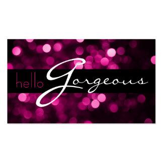 MakeUp Artist Cosmetology Salon Beauty Business Business Cards