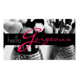 MakeUp Artist Cosmetology Salon Beauty Business Pack Of Standard Business Cards