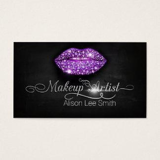 Makeup Artist/Diamonds Sparkle Lips