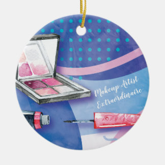 Makeup Artist  Extraordinaire Beauty Stylist Ceramic Ornament