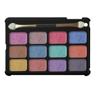Makeup artist eyeshadows palette   digital design cover for the iPad mini