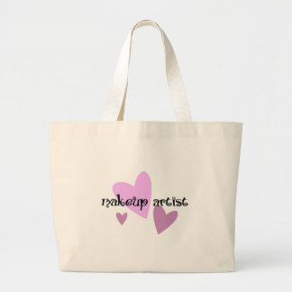 Makeup Artist Large Tote Bag